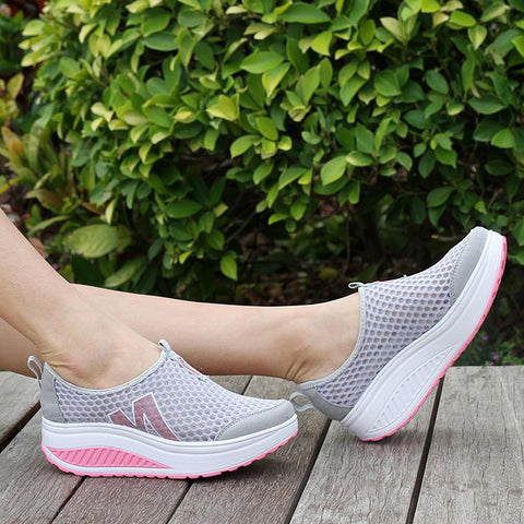 Breathable Air Mesh Swing Wedges