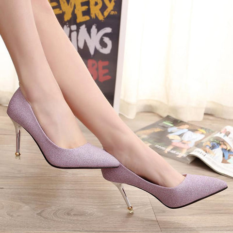 Pointed Toe High Sexy Heel
