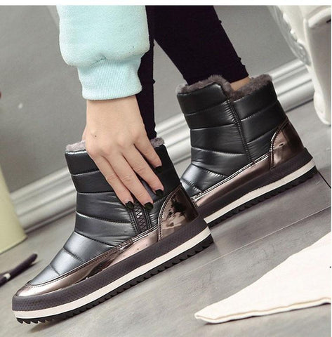 Waterproof Ankle Winter Boot