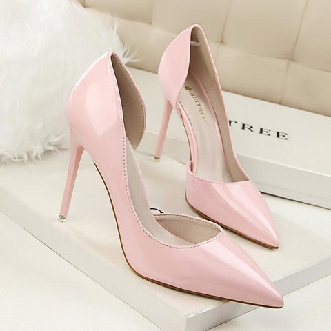 High Pumps Thin Sexy Prom Heel