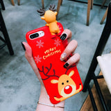 Christmas Gift Lie Down Elk Phone Case Limited Stock Hurry-Up
