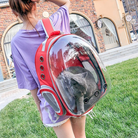 Backpack Pet Travel Cave Portable Bag For Kitty Puppy Small Dog 2