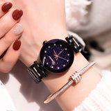 Hot Top Brand Luxury Causal Stainless Steel Wrist-watche
