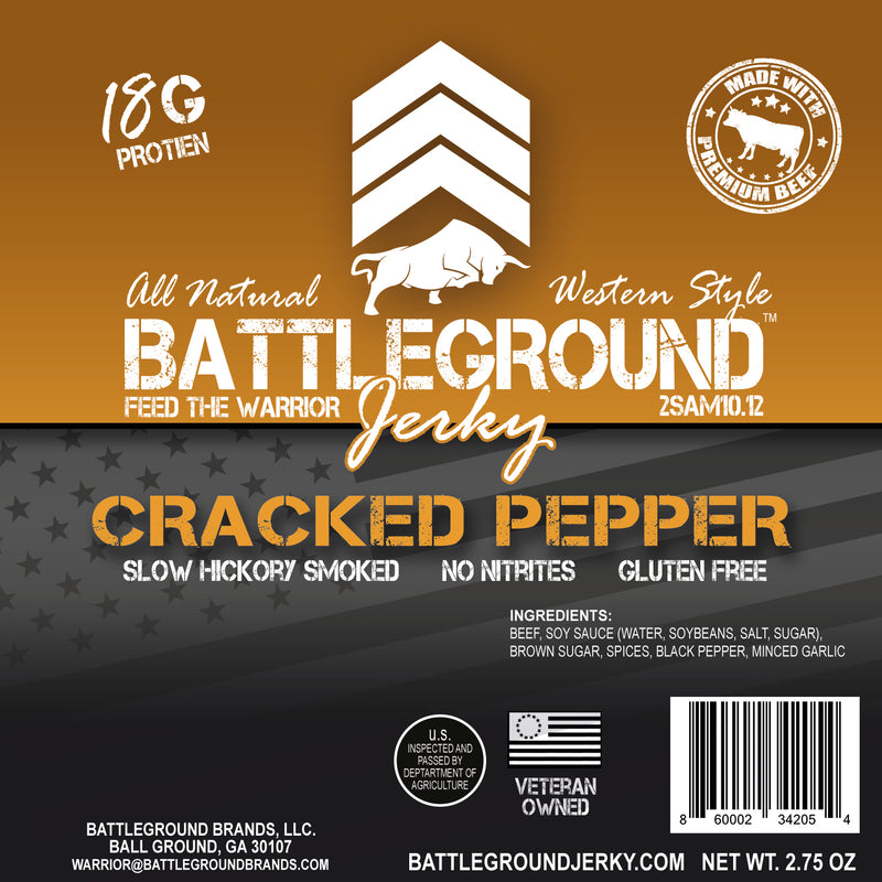 BattleGround Jerky Bundle - Save $5 on All 5 Flavors