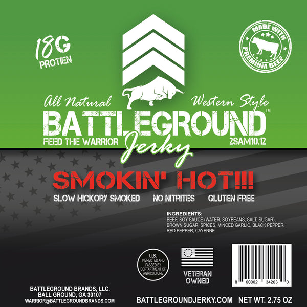 Smokin' Hot - BattleGround Beef Jerky