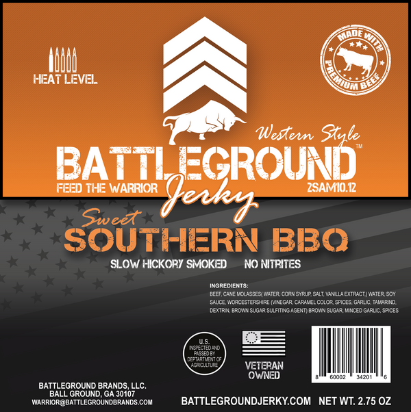 Southern BBQ - BattleGround Beef Jerky