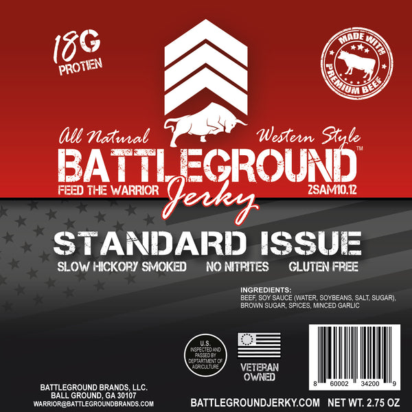 Standard Issue - BattleGround Beef Jerky