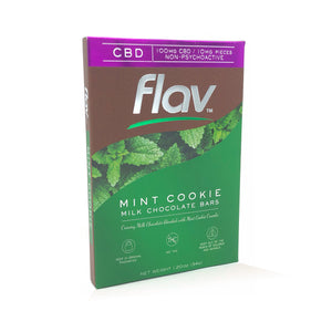 Flav Chocolate Bars Mint Cookie