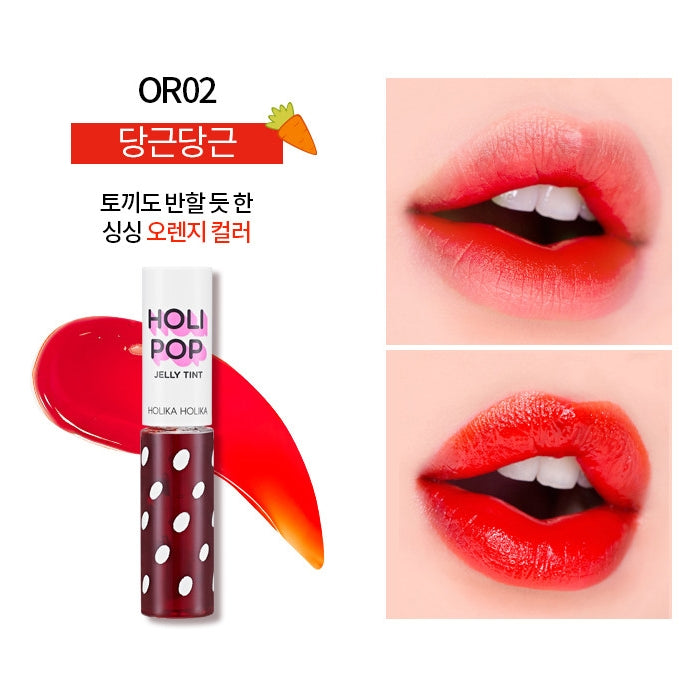 Holika Holika - Holi Pop Jelly Tint OR02 Carotte - Ambelle