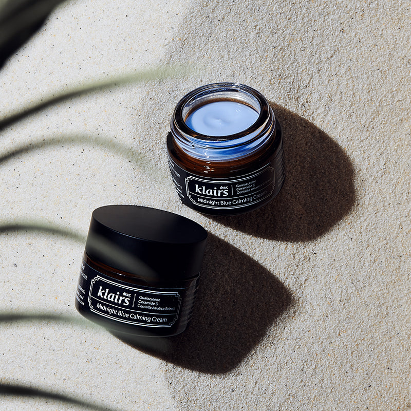 Klairs - Crème apaisante - Midnight Blue Calming Cream soin anti acné - Ambelle