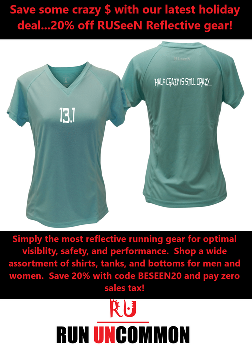 20% Off RUSeeN Reflective Apparel