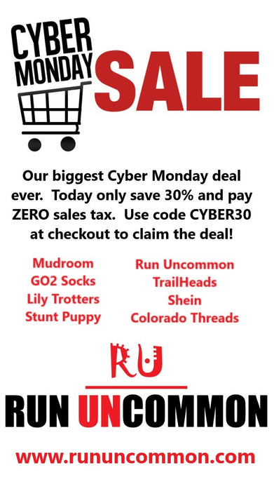 Cyber Monday Savings from Run Uncommon