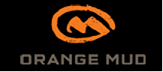 orange mud running packs logo