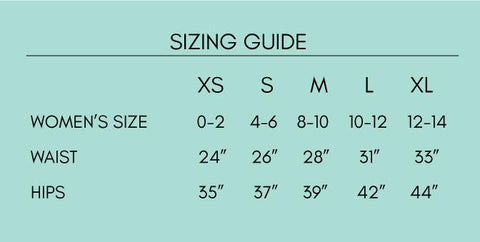 coalition snow sizing chart