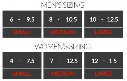 go2 compression ankle sleeve sizing guide