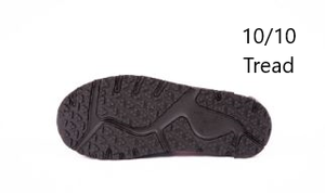 10/10 tread sole