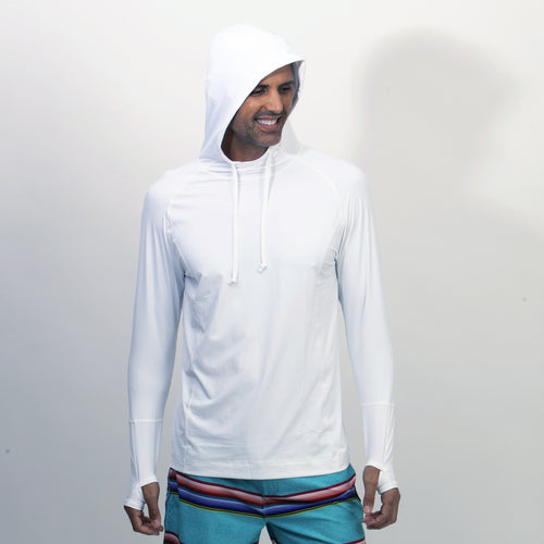 BloqUV Sun Protection Running Hoodie Long Sleeve Men's | Run Uncommon