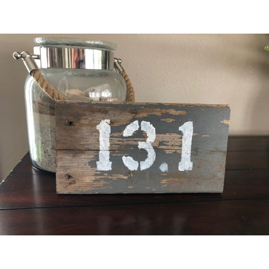 13.1 barn wood desk art