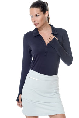bloquv collared shirt 8005 women's black