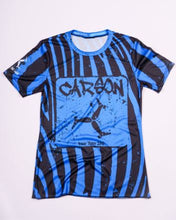 Load image into Gallery viewer, blue tiger performance running tee