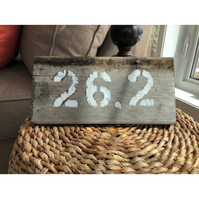 26.2 wall and desk art driftwood piece