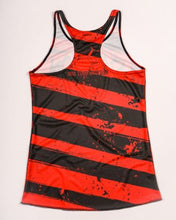 Load image into Gallery viewer, red and black running tank rear view