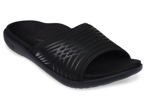 spenco mens thrust recovery slide black