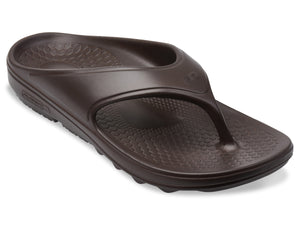 spenco fusion 2 recovery sandal coffee bean