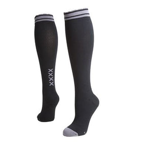 lily trotters four kisses compression socks black