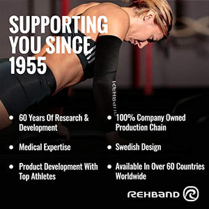 rehband compression arm band benefits
