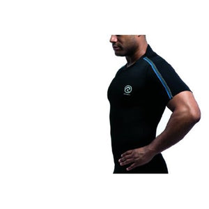 rehband fitted athletic top mens black
