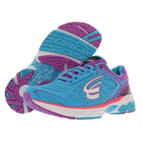 spira aquarius women's running shoe blue / purple / white