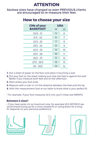 sockwa sizing guide running
