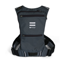 Load image into Gallery viewer, fitly innovative running backpack classy black