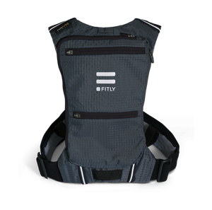 fitly innovative running backpack classy black