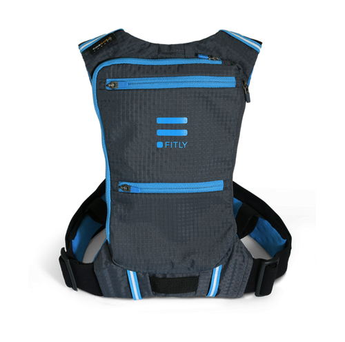 FITLY innovative running pack emerald blue