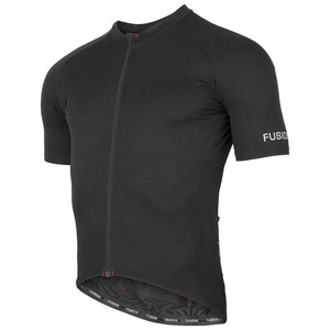 fusion c3 cycling jersey unisex front black