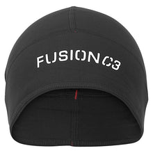 Load image into Gallery viewer, fusion c3 performance running beanie black front