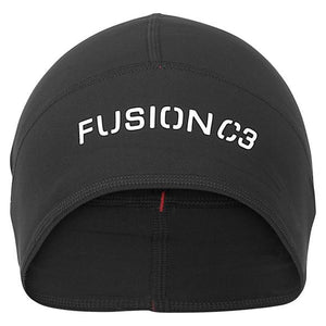 fusion c3 performance running beanie black front