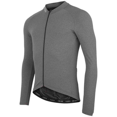 fusion ls cycling jersey unisex front