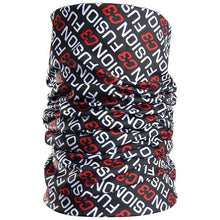 Load image into Gallery viewer, fusion c3 logo gaiter performance running black/red