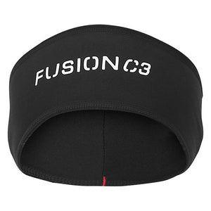 fusion c3 running headband black front