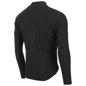 fusion c3 hot ls cycling jersey black rear