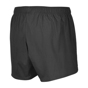 "fusion running shorts c3 black 3.5"" inseam back"