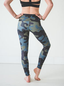 Moss Camo Leggings Women's