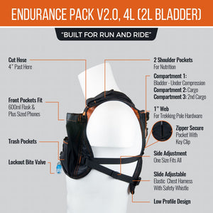 orange mud endurance 4L side features