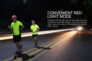 fenix hl15 running headlamp men running