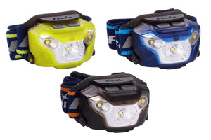 fenix hl26r rechargeable running headlamp multicolor