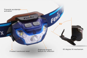fenix hl26r rechargeable running headlamp buttons