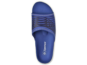spenco mens thrust recovery slide top